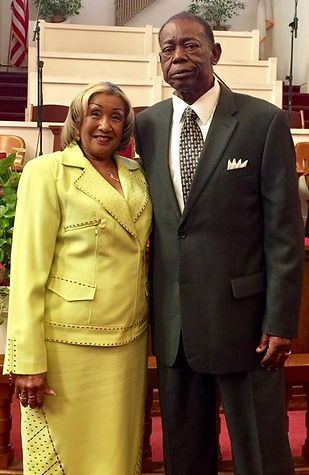 Presiding Elder Eugene Parker and Mrs. Sylvia Parker