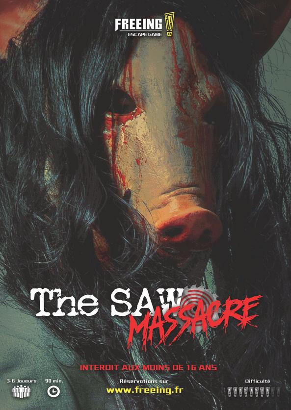 salle saw massacre freeing escape game