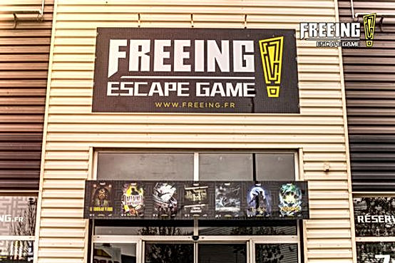 Freeing Escape Game Ile de France