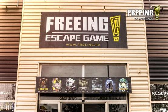 Freeing Escape Game Ile de France