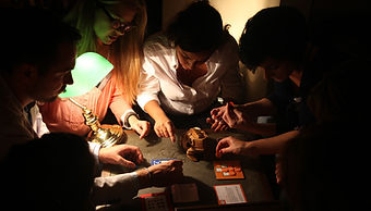 freeing escape game team building