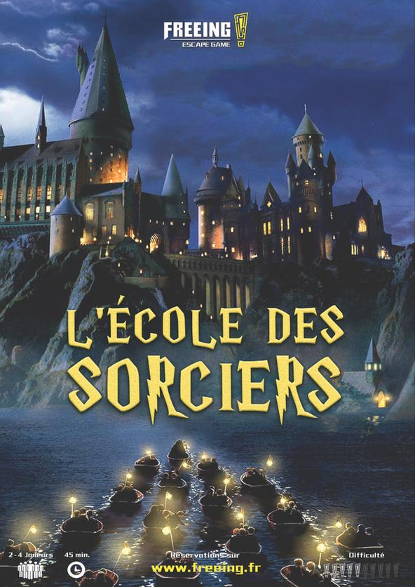 Ecole des Sorciers freeing escape game