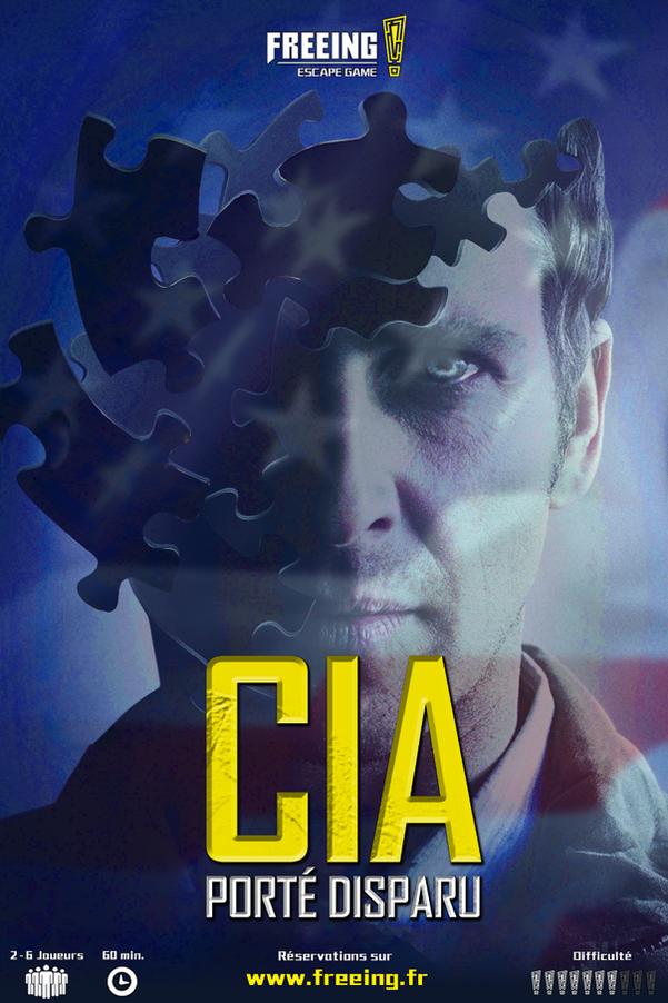 salle CIA porté disparu freeing escape game