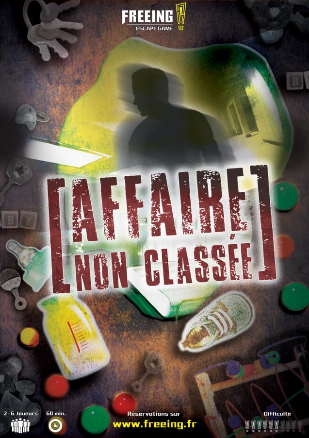 salle Affaire non classée freeing escape game