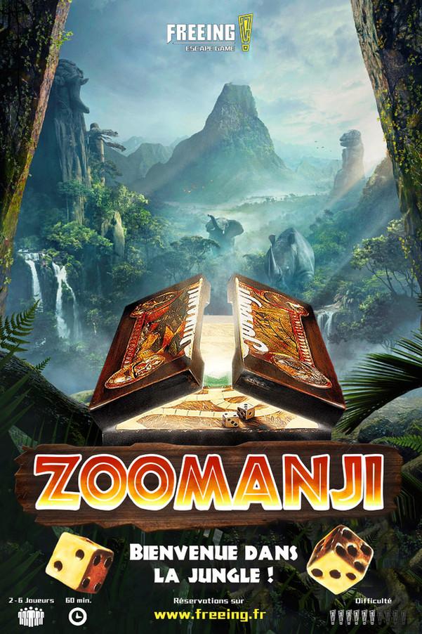 salle zoomanji freeing escape game