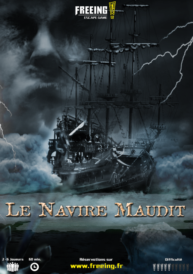 salle navire maudit freeing escape game