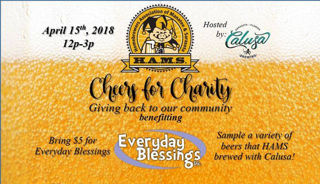 Coming soon: April Cheers for Charity