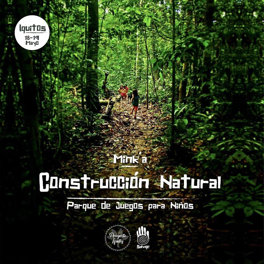 Mink´a de bioconstrucción en Iquitos