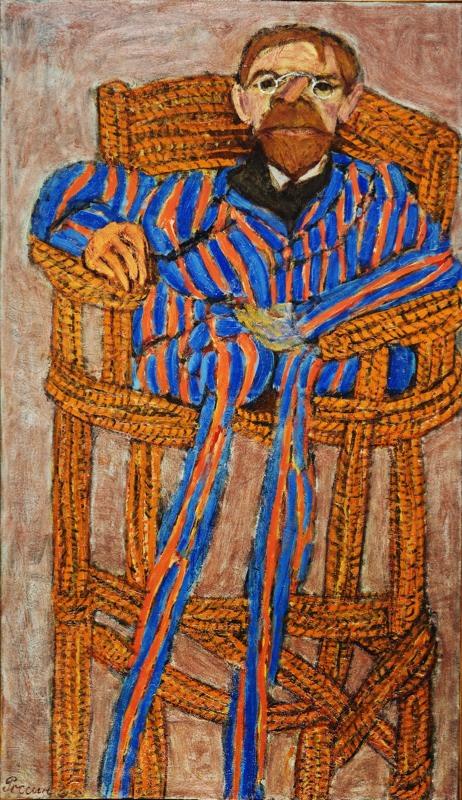 Tchekhov in a Garden Chair