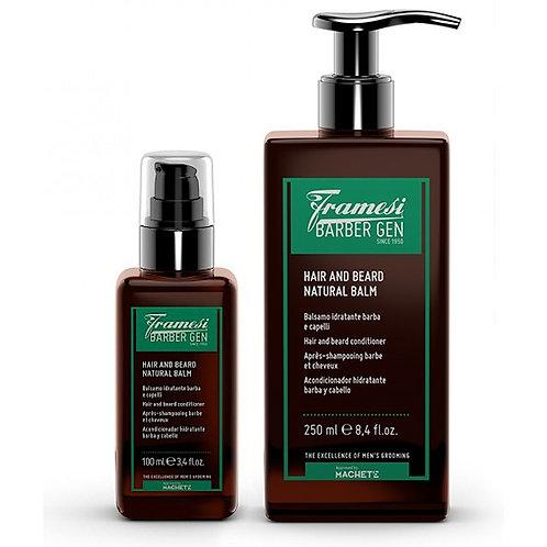 Framesi Barber Gen Hair & Beard Natural Balm 250ml/100ml