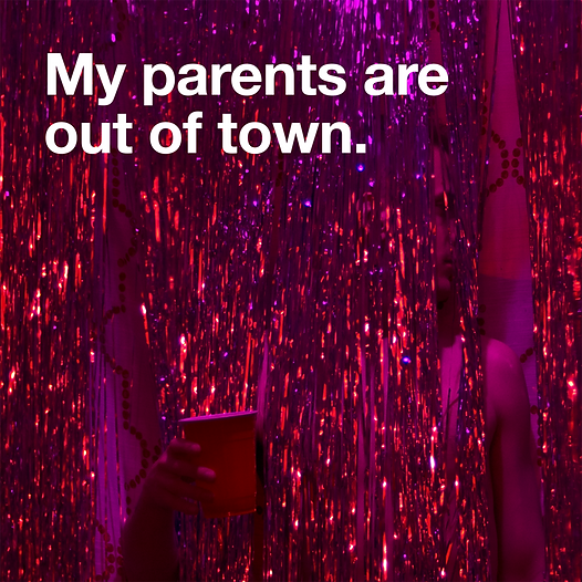 Smadam Productions presents My Parents Are Out of Town