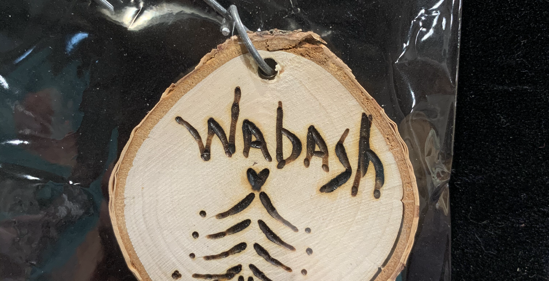 Wabash Tree Ornament 1 $6.50