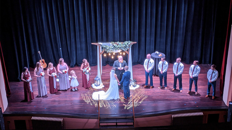 Eagles Theatre Stage