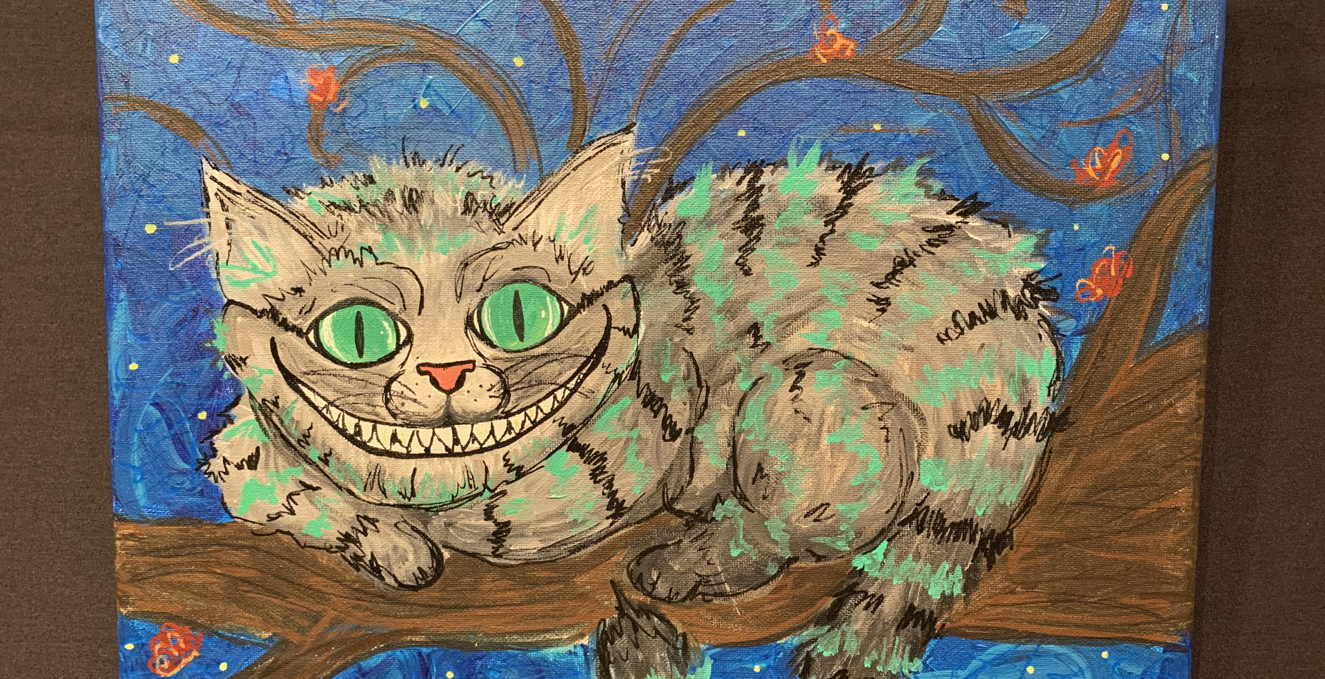 Cheshire Cat (SOLD)