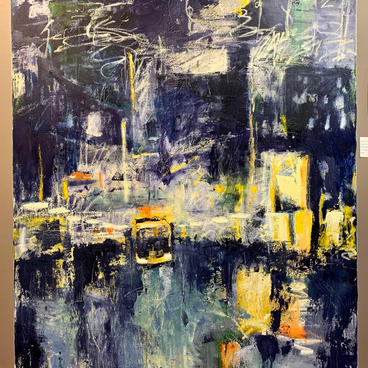 Night Moves - Honorable Mention Painting ($550)