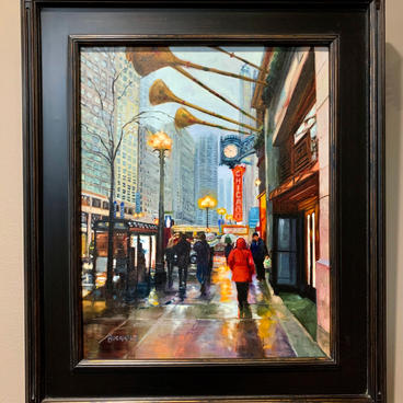 December in the City - Best of Show ($1400)