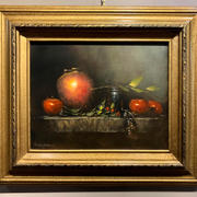 Foley Jug with Apples ($500)