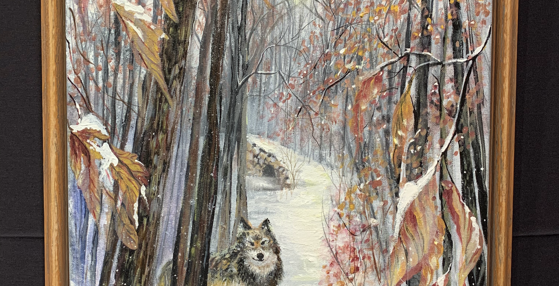 Wolf in Snow (SOLD)