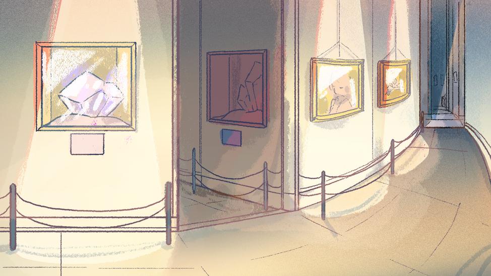 Museum Interior-Crown Jewels