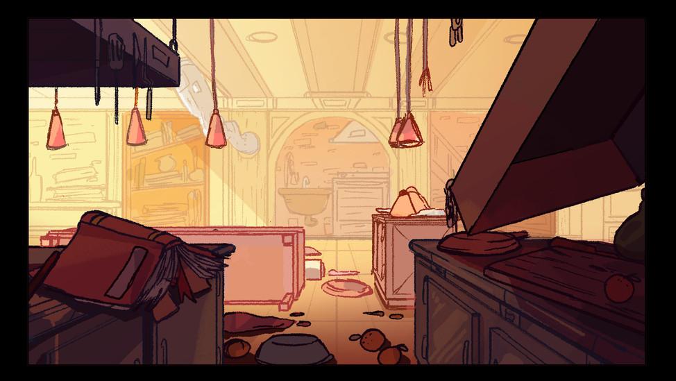 Hell's Kitchen interior destroyed