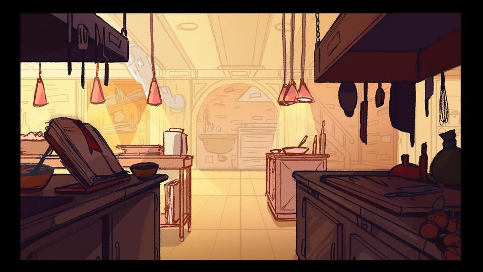 Hell's Kitchen Interior