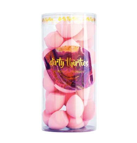 Dirty Thirties Beauty Sponges - Light Pink 30 MINI