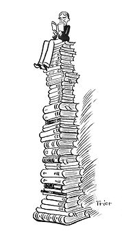 Walter Trier der Bücherturm