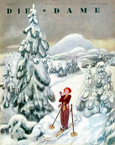 30 Eitle Skifahrerin 1927.jpg