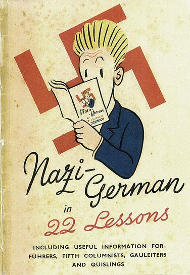 56 Nazi-German in 22 Lessons 1942.JPG