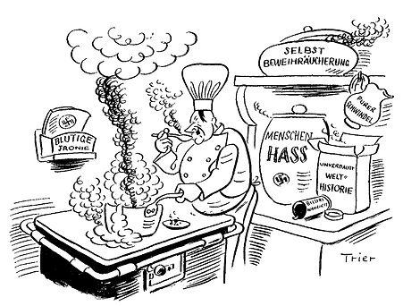 Walter Trier Hitlers Küche