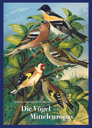 Johann Friedrich Naumann Die Vögel Mitte