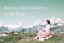 Andrea Stultiens. Alpen Mächen Berge