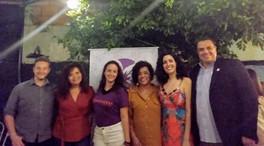 DWE e parceiros no lançamento do projeto Indômitas.