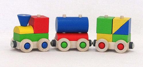Kleiner Zug aus Holz