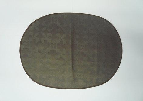 Tischset oval, eingefasst