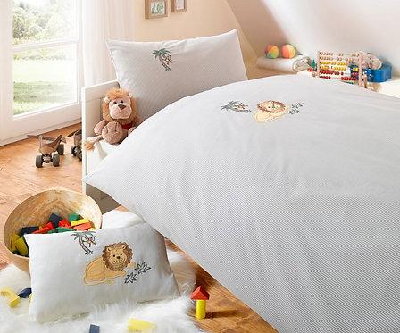 Maco Batist Kinderbettwäsche Löwe