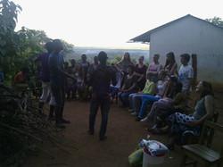 ein Abend an der Forest Zone School mit den young swaggers Mai 14