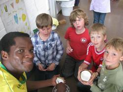 Freunde der Erde Besuch aus Afrika1