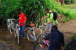 Pause Radtour vom UPTC