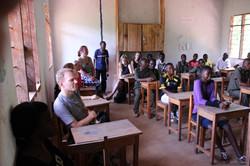 Besuch der ForestZoneSchool 2015