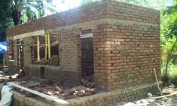 Chicken House Mitte April ohne Dach