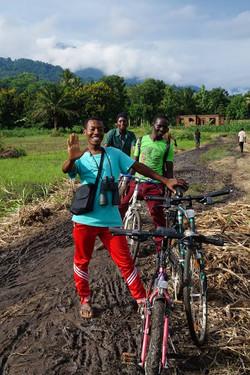 Radtour der Ausbildungsgruppe vom Udzungwa Proffessional Training college