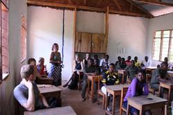 Besuch der Forest Zone School 2015
