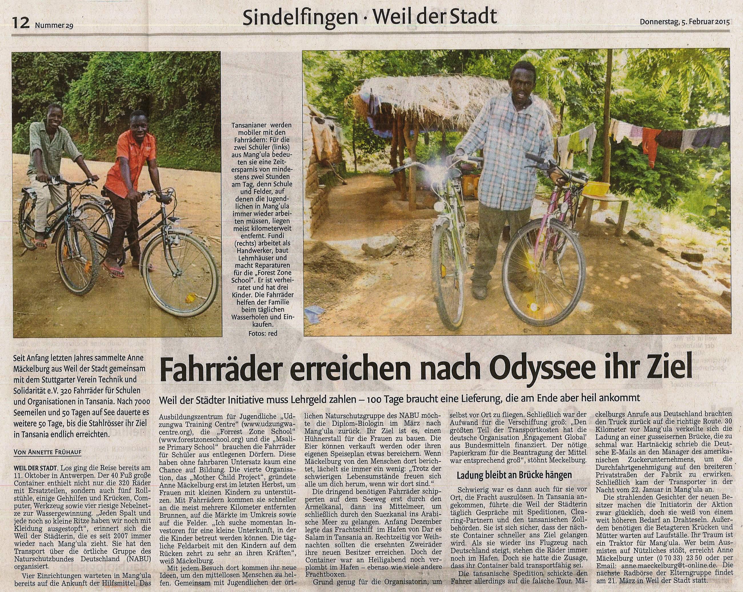 2015_02_05_Fahrräder_für_Tansania