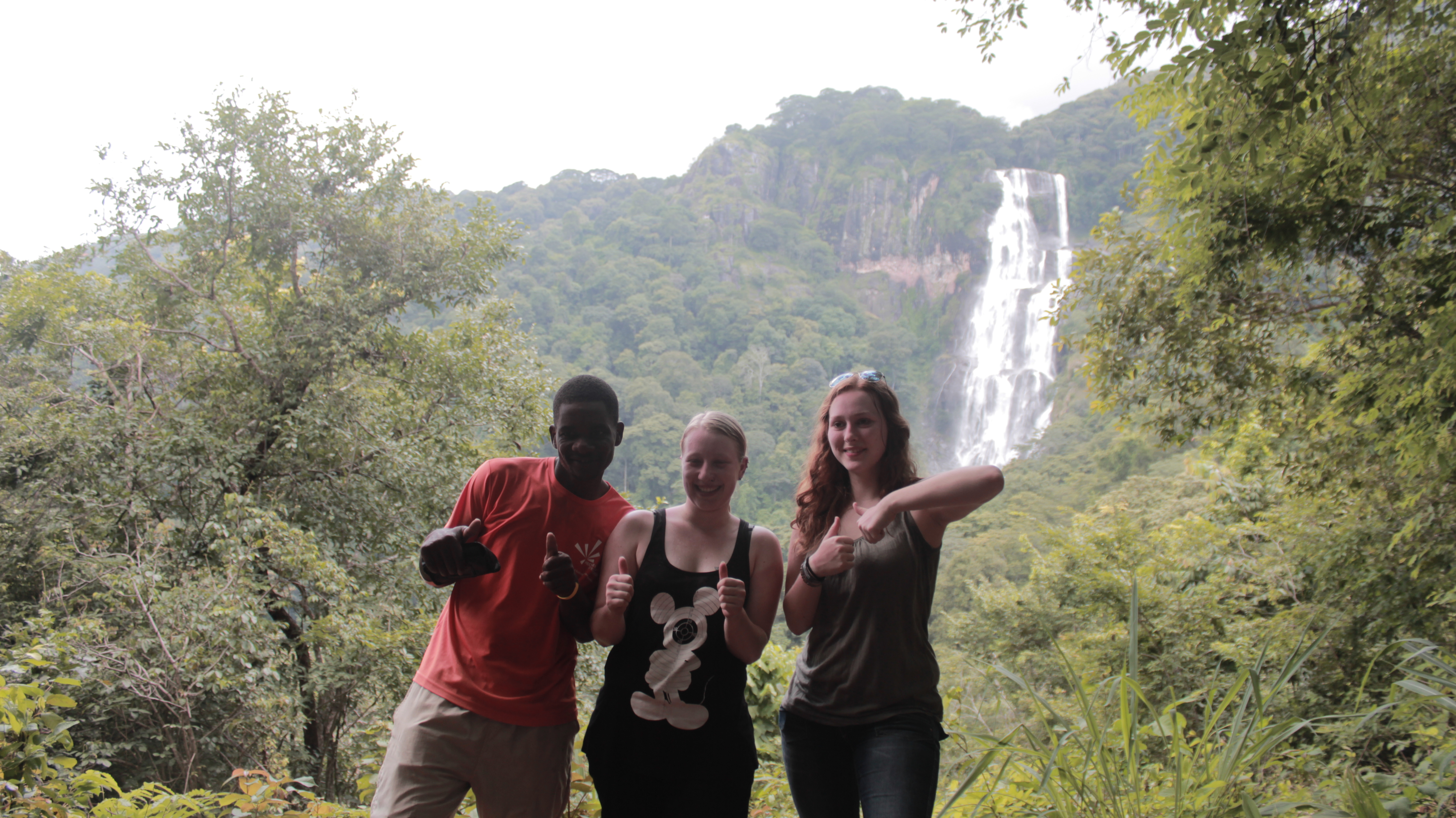 am Sanje Wasserfall
