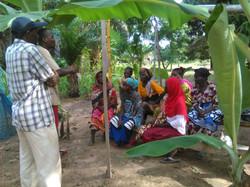Besprechung der Frauengruppe