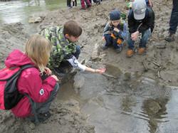 Wassererlebnis mit Kindern