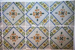 Detalle azulejos aseo