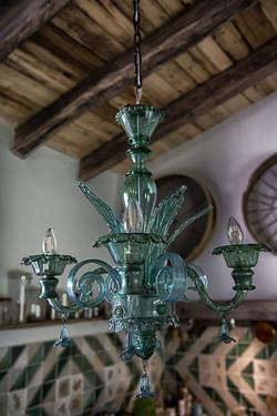 Detalle lámpara sala