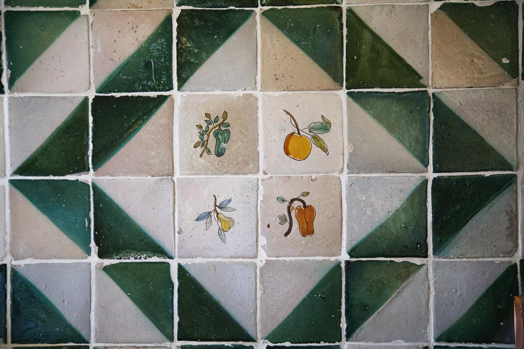 Detalle mural cocina